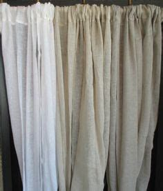cheesecloth curtains linen drapes on pinterest cheesecloth french country