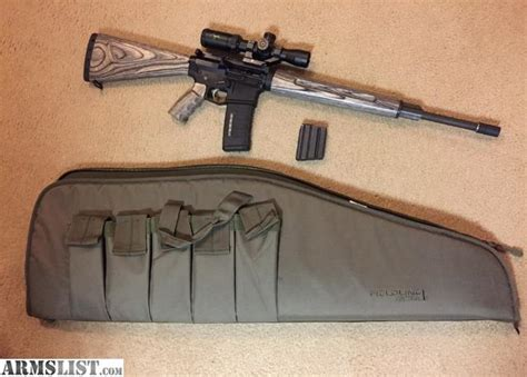Ar 10 Wood Furniture by Armslist For Sale Billet Ar15 With Wood Furniture Hbar