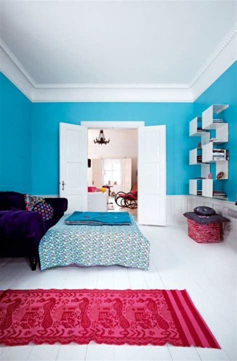 Bright Home Furniture by Light House With Colorful Interior And Bright Furniture Digsdigs