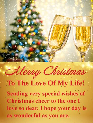 merry christmas wishes  loved