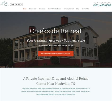 Free Detox Centers Near Tn by Luxury Rehabilitation Center In Tennessee Announces