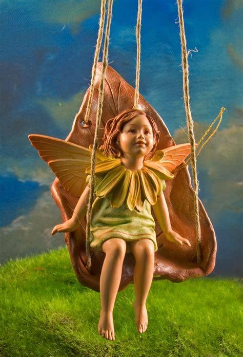leaf swing miniature leaf swing polymer clay cute design