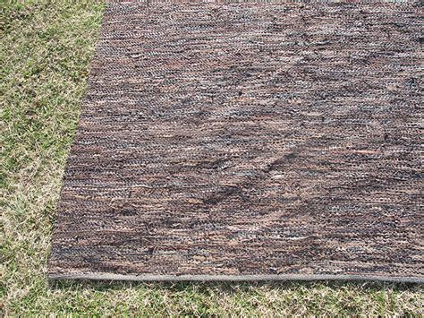 capel rugs troy nc vintage capel leather rag rug woven carpet 11 x8 orig label mid cent decor