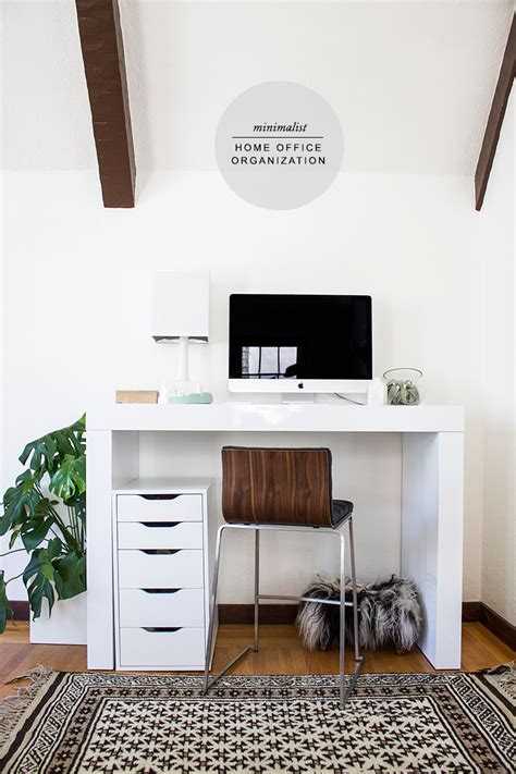 how to create a minimalist home office frances hunt minimalist office organization copycatchic
