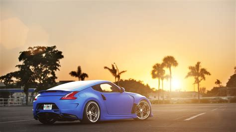 nissan 370z wallpaper sunset blue nissan 370z wallpaper allwallpaper in 16490
