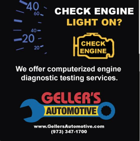 where to take car for check engine light is your check engine light on call geller s automotive