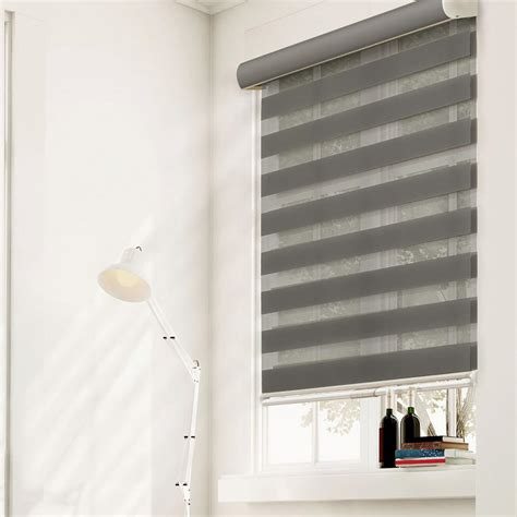 light filtering roller shades chicology zebra roller shade granite light filtering