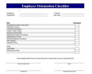 New Hire Safety Orientation Outline by Business Templates Free Business Templates
