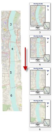 rotate layout view arcgis 10 enabling data driven pages for a strip map help arcgis