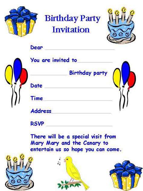happy birthday invites template invitation templates happy idea