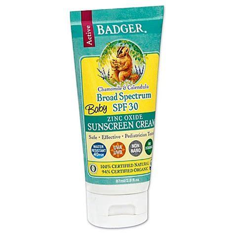 Baby Sun Block 100gr 2 badger 174 baby 2 9 oz broad spectrum zinc oxide sunscreen spf 30 bed bath beyond