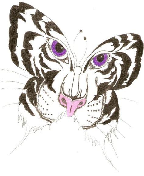 tiger butterfly tattoo designs butterfly tiger design tattooshunt