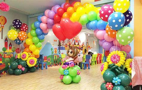 balloon decoration at home birthday organizer theme party rainbow balloon decorating tips for birthday party