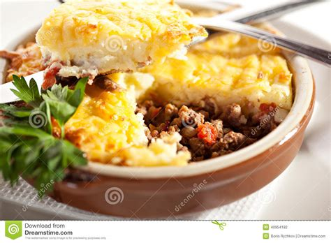 Sauce For Cottage Pie by Cottage Pie Stock Photo Image 40954182
