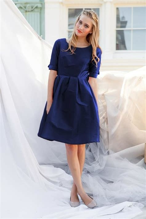 shabby apple prince fit and flare dress navy shopstyle women