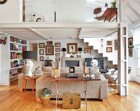 Wohnzimmer Vintage Einrichten by Attic Apartments With Neoclassical Ideas Located In Spain