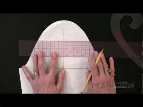youtube pattern making making a straight sleeve sloper free full lesson youtube
