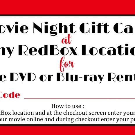 Buy Redbox Gift Card In Store - redbox printable gift tag redbox printable tag redbox teacher gift sweetdesignsbyregan