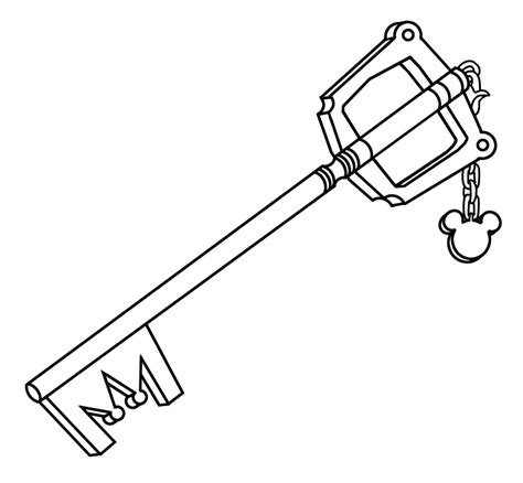 coloring page of key printable picture of key free coloring page key coloring