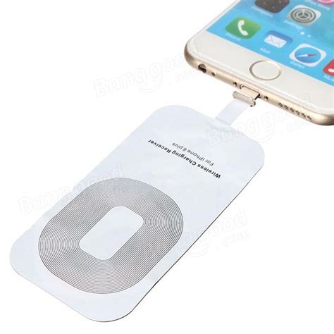 Sale Qi Wireless Charger Card Receiver Untuk Iphone 5 6 5s 5c slim qi wireless charger charging receiver card for iphone