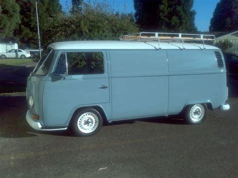 find  rare vw  volkswagen panel bus walkthrough great condition camper  bed