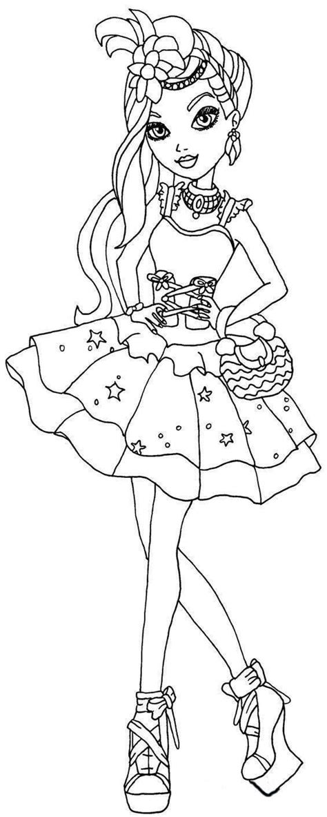 After High Apple White Coloring Pages