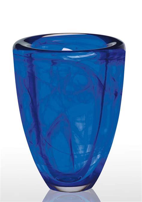 kosta boda blue vase kosta boda cobalt blue vase for the home