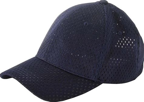 big accessories 6 panel structured mesh baseball cap bx017