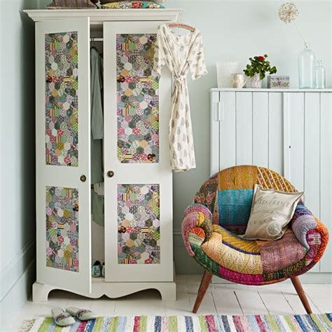 Patchwork Supplies Uk - white country style bedroom with patchwork accessories