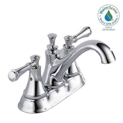delta silverton 4 in centerset 2handle bathroom faucet