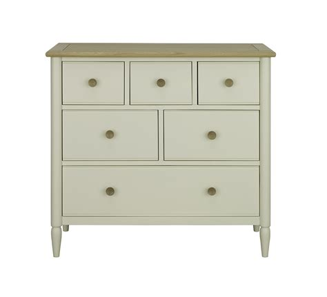 ercol piacenza 6 drawer wide chest choice furniture