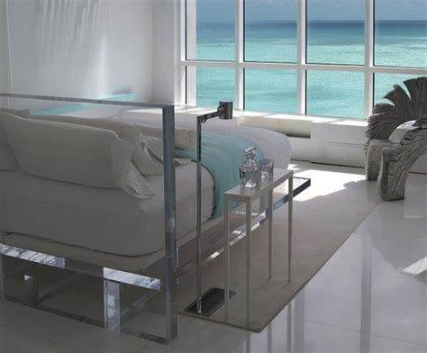 acrylic bedroom furniture 42 original and creative bed designs digsdigs