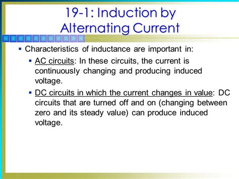 characteristics of inductors in dc circuits 19 inductance chapter topics covered in chapter ppt