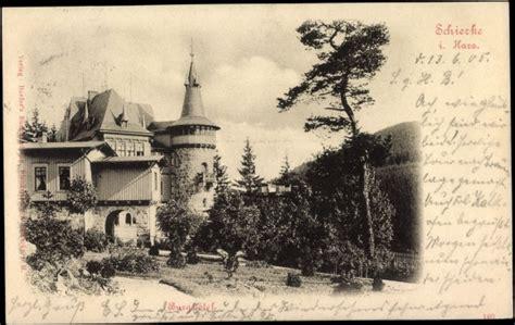 Garten Kaufen Berlin Blankenburg by Ansichtskarte Postkarte Schierke Harz Partie Am Burg