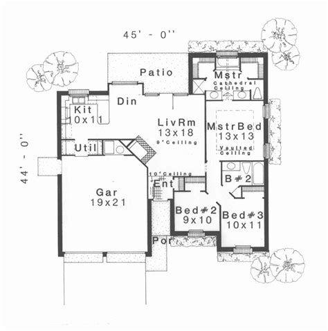 narrow lot ranch house plans grigsby narrow lot ranch home plan 036d 0168 house plans and more