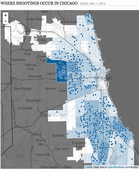 chicago gun violence map chicago s underfunded community policing program the