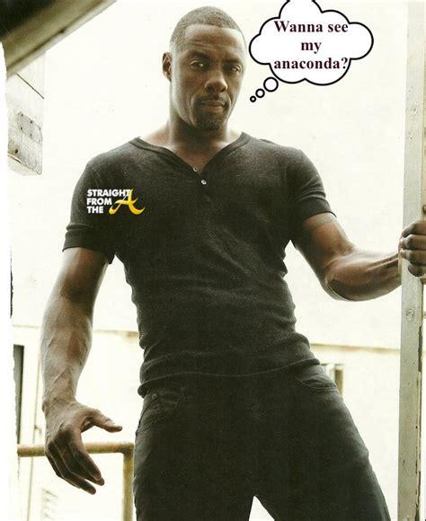 In The Tweets: Idris Elba?s Anaconda Nearly Crashes The