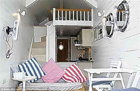 beach hut style bedroom six foot wide beach hut set to become britain s most