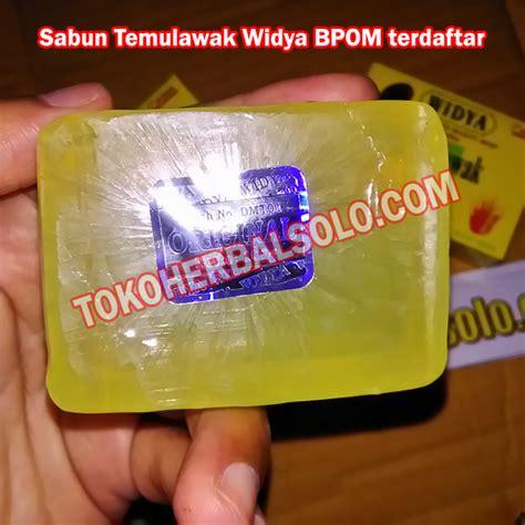 Sabun Temulawak Herbal sabun herbal temulawak widya ber bpom ori toko herbal