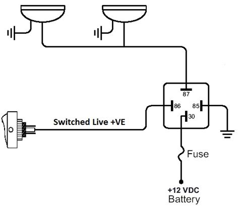 relay circuit diagram and operation pdf wiring diagrams