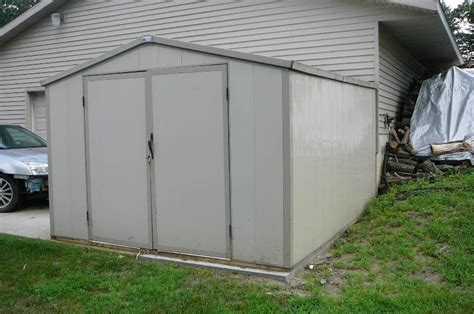Royal Vinyl Storage Sheds by Playhouse Shed Bike 251 In Alexandria Minnesota By Kan Do