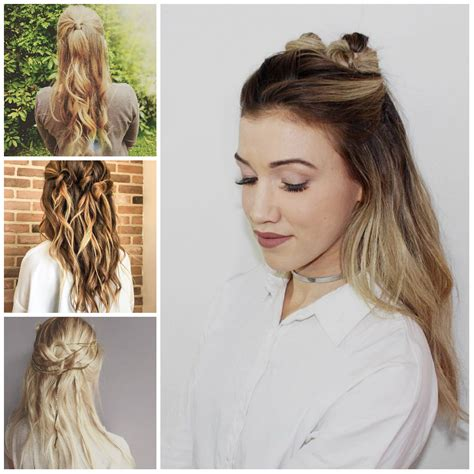 easy hairstyles for hair down cute hairstyles down hair is our crown