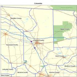 columbia county florida zip code map