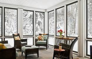 Windows For All Season Room How To Make The Most Of Enjoy Your Small Winter Patio