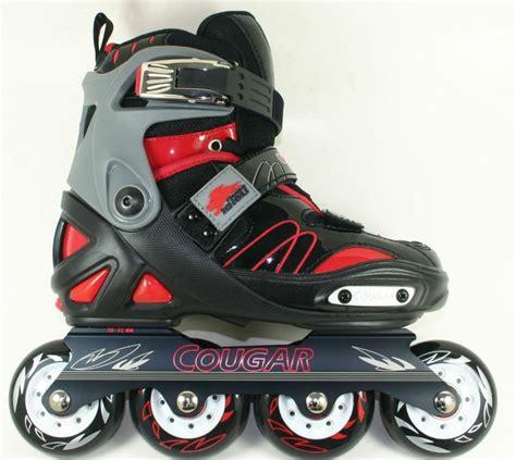 Roller Merah Biru slalom profesional rol inline skate blade cr7 merah biru pink produk olahraga