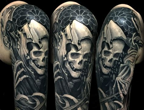 life and death tattoos symbology tattoos the greatest mystery of all