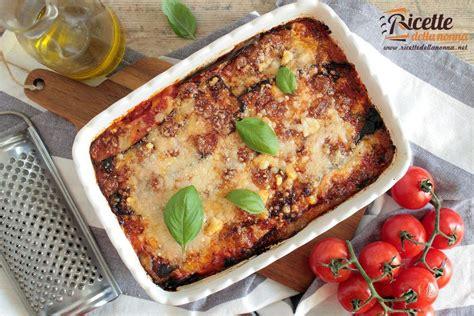 cucina melanzane alla parmigiana ricetta melanzane alla parmigiana ricette della nonna