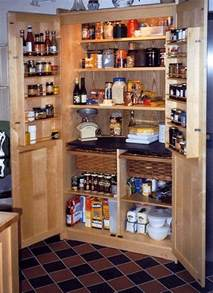 Kitchen Food Pantry by A Freestanding Pantry For Small Spaces