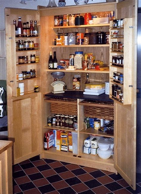 diy kitchen pantry cabinet a freestanding pantry for small spaces your projects obn