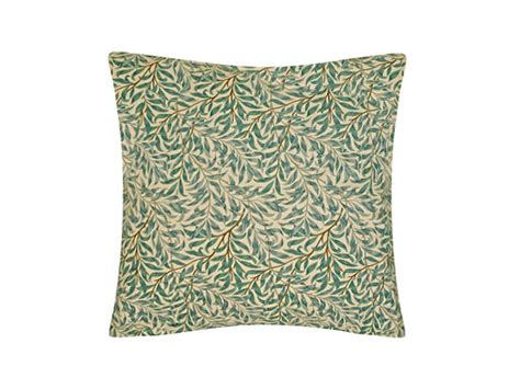 Dining Room Seat Cover by William Morris Willow Bough Green Cushions